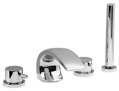Встроенный смеситель Vega Arco Lux на борт ванны, 4 элемента - фото 10124