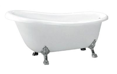Акриловая ванна BelBagno BB04-CRM хром 170х80 - фото 5319