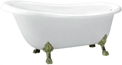 Акриловая ванна BelBagno BB04-BRN ножки бронза 170х80 - фото 5328