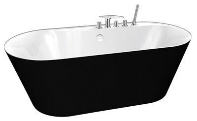 Акриловая ванна BelBagno BB14-NERO/BIA 178*84 - фото 5364