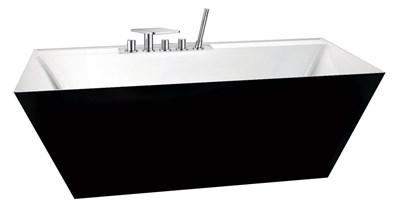 Акриловая ванна BelBagno BB19 181*81 NERO/BIA - фото 5373