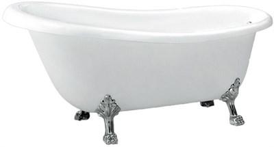 Акриловая ванна BelBagno BB20 170*73 хром - фото 5376