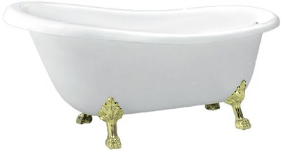Акриловая ванна BelBagno BB20 170*73 золото - фото 5382