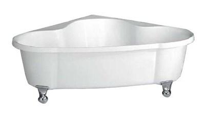 Акриловая ванна BelBagno BB07 150*150 хром - фото 5412