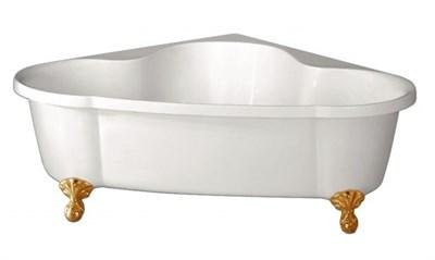 Акриловая ванна BelBagno BB07 150*150 золото - фото 5417