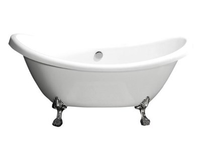 Акриловая ванна BelBagno BB05 1825*750*800 хром - фото 5430