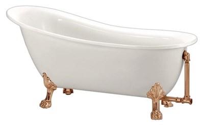 Акриловая ванна BelBagno BB06 170*76 бронза - фото 5442