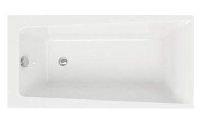 Акриловая ванна Cersanit Lorena 160*70 ультра белая - фото 5567