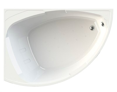 Акриловая ванна Радомир Астория 168*120 левая - фото 5799