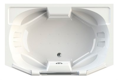 Акриловая ванна Радомир Конкорд 180*120 - фото 5957
