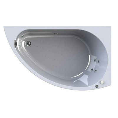 Акриловая ванна Vannesa by Radomir Бергамо R 168*100 с гидромассажем Wachter - фото 6179