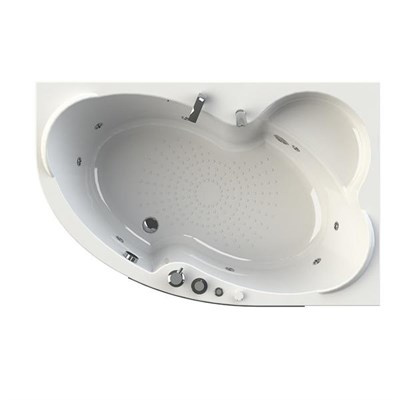 Акриловая ванна Vannesa by Radomir Ирма 2 R 150*97 с гидромассажем Wachter - фото 6189
