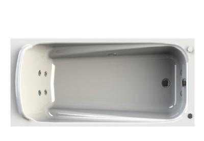 Акриловая ванна Vannesa by Radomir Роза 170*77 с гидромассажем Wachter - фото 6240