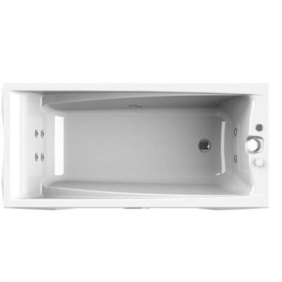 Акриловая ванна Vannesa by Radomir Фелиция 160*75 с гидромассажем Wachter - фото 6258