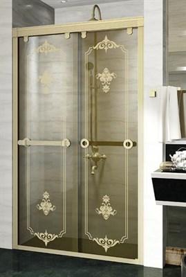 Душевая дверь Радомир 140 Bronze - фото 6859