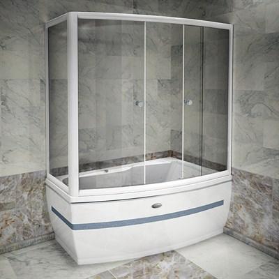 Стеклянная шторка на ванну Радомир Аризона - фото 6867