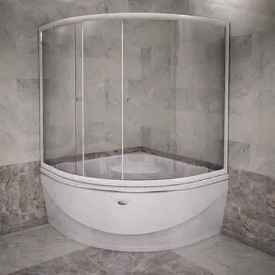 Стеклянная шторка на ванну Радомир Верона - фото 6874
