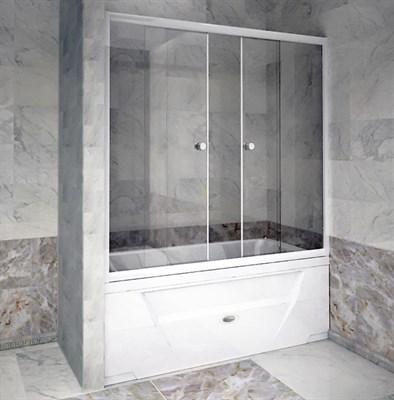 Стеклянная шторка на ванну Радомир 170 - фото 6900