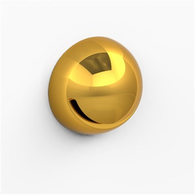Излив Радомир Минисфера врезной золото - фото 6962