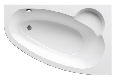 Акриловая ванна Ravak Asymmetric 170*110 R - фото 7235