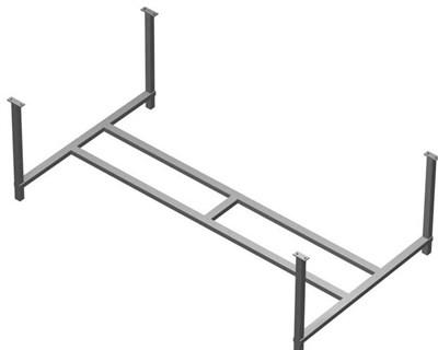 Опорная конструкция Ravak для ванн шириной 75 см - фото 7450