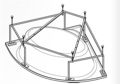 Монтажный комплект Santek Канны угловой, 1WH112432 - фото 7984