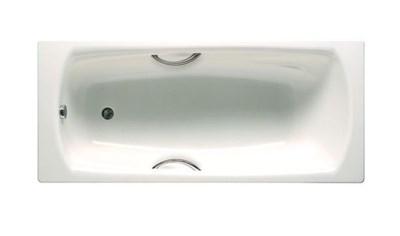 Стальная ванна Roca Swing 170*75 с ручками - фото 8200