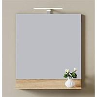 Зеркало Aqwella Фостер 60 дуб сонома зеркало