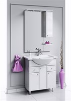 Мебель для ванны  Aqwella Барселона Люкс 75 с б/к