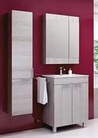 Мебель для ванны Aqwella Бриг 60 дуб седой напольный