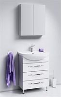 Мебель для ванны Aqwella Аллегро 65 с 3 ящиками