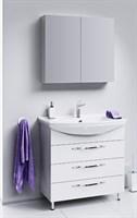 Мебель для ванны Aqwella Аллегро 85 с 3 ящиками