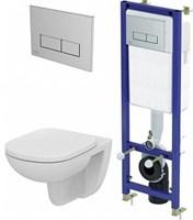 Комплект Ideal Standard Tempo W990101 Сет подвесной унитаз + инсталляция