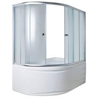 Шторка для ванны DIANA 170*105*140 ТS (хром, прозрач.)