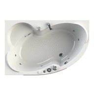 Акриловая ванна Vannesa by Radomir Ирма 2 L 150*97 с гидромассажем Wachter