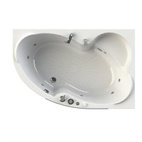 Акриловая ванна Vannesa by Radomir Ирма 2 R 150*97 с гидромассажем Wachter