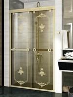 Душевая дверь Радомир 120 Bronze