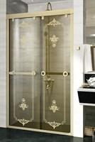 Душевая дверь Радомир 140 Bronze