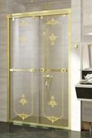 Душевая дверь Радомир 140 Gold