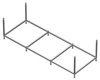 Монтажный набор для а/в Roca Easy ZRU9302900 170*75