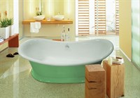Ванна из искусственного камня Астра-Форм Мальборо 190*86 цветная