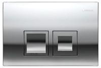 Клавиша смыва Geberit Delta 50 115.135.21.1 пластик, хром